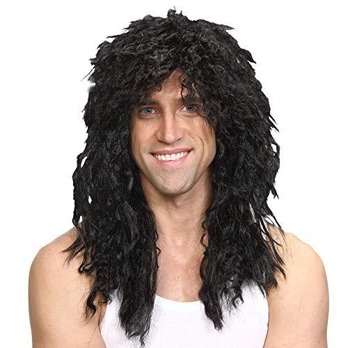 Rockstar Wig Noir Halloowen / Carvival Accessoire de fantaisie