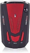 $35 » Car Radar Detector, Radar Detector, Voice Alarm and 360 ° Auto-Speed Alarm System with Detection, Radar Detector for Cars,Red