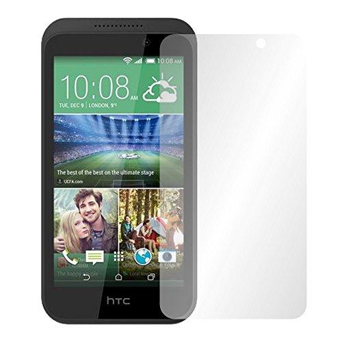 Slabo 4 x Bildschirmschutzfolie für HTC Desire 320 Bildschirmfolie Schutzfolie Folie Zubehör Crystal Clear KLAR