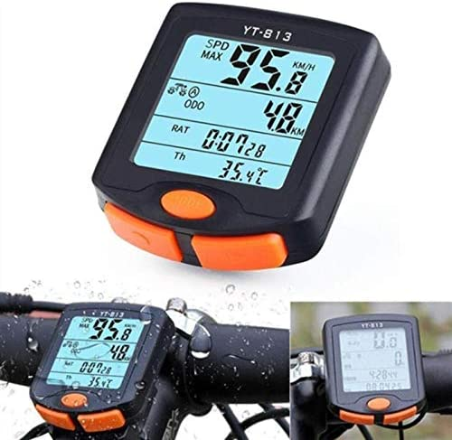 Bike Computer Wireless Speedometer Mult Portland Mall Bicycle Cycling safety Odometer
