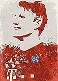 empty Bastian Schweinsteiger Fine Art Wall Poster Sticker