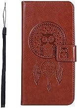 جرابات KINGCOM - جراب محفظة Biencaso Owl لهاتف Lenovo Vibe P1 P1M P2 A2010 K6 Note Power K3 A6000 A7010 K5 K8 Note سيليكون Fundas B183 (بني لهاتف i7 Plus i8 Plus)