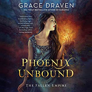 Phoenix Unbound     The Fallen Empire Series, Book 1              By:                                                                                                                                 Grace Draven                               Narrated by:                                                                                                                                 Katharine McEwan                      Length: 14 hrs and 2 mins     21 ratings     Overall 4.7