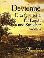 DEVIENNE - Cuartetos (3) Op.73 para Fagot, Violin, Viola y Violoncello (Partes) (Pauler)