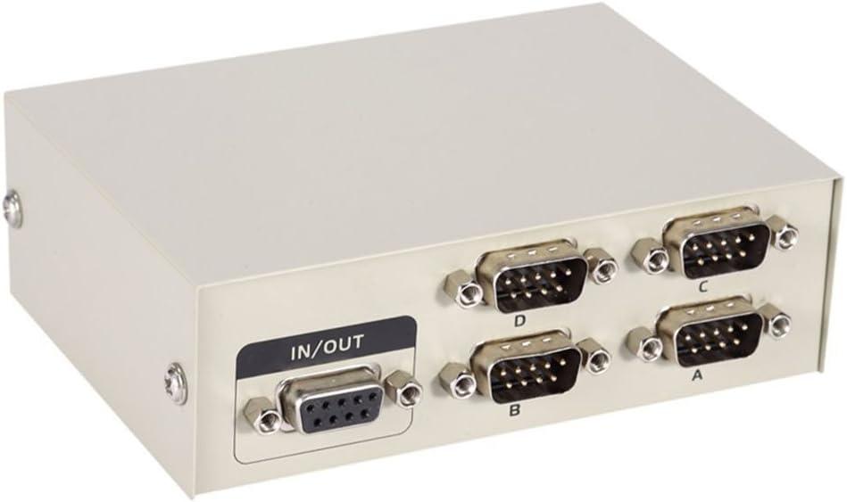 Pc Drucker Db9 Pin Seriell Rs232 Schalter Box Es Tune Metall Gehäuse Manuelle Rs 232 Daten Switcher Für Pc Sharing Zu Serial Device Computer Zubehör