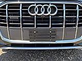 TrunkNets Front Bumper License Plate Bracket for Audi & 6 Secure Screws & Wrench Kit