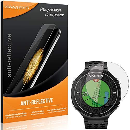 2 x SWIDO Protector de pantalla Garmin Approach S6 Protectores de pantalla de película 'AntiReflex' antideslumbrante