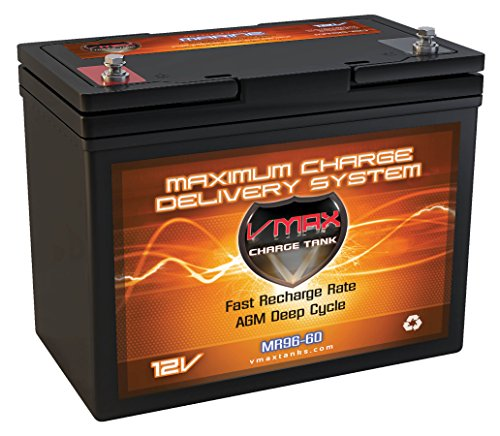 MR127 12 Volt 100Ah AGM Deep Cycle Battery by VMAX