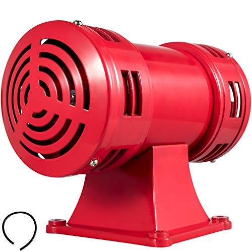 Discover Bargain BestEquip Air Siren MS-490 Air Raid Horn 140db Industrial Electric Siren Motor Cont...