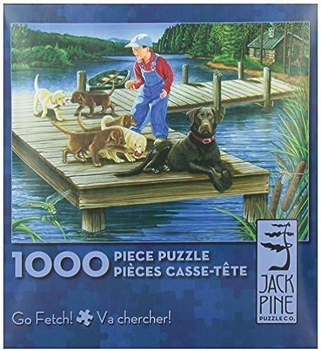 Go Fetch - 1000 piece puzzle by Jack Pine Puzzle Company