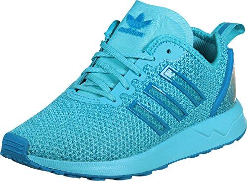 Adidas - ZX Flux Adv K - AQ6289 - Colore: Azzuro - Taglia: 37.3