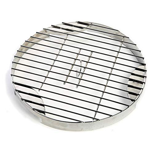 CampMaid Flip Grill & Trivet - Portable Grill Grate for Outdoor Cooking - Portable BBQ Grill Grate & Trivet - Multipurpose BBQ Accessory for Steaming, Grilling, Smoking, & More