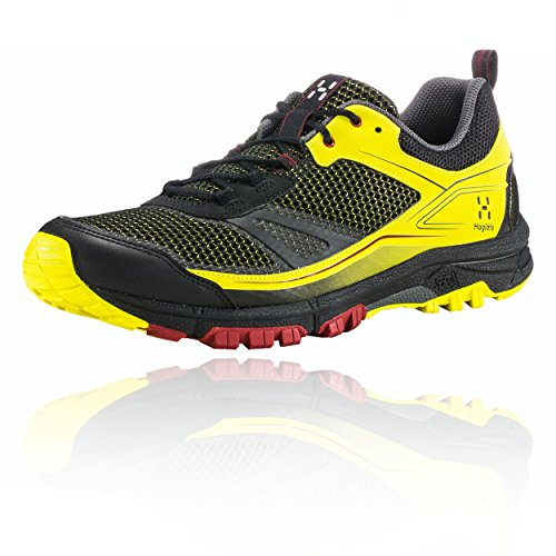 Haglöfs Gram, Scarpe da Trail Running Uomo, Nero (True Black/Star Dust 3wu), 41 1/3 EU