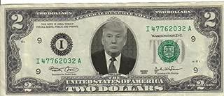 Donald Trump $2 Dollar Bill Mint! Rare! $1