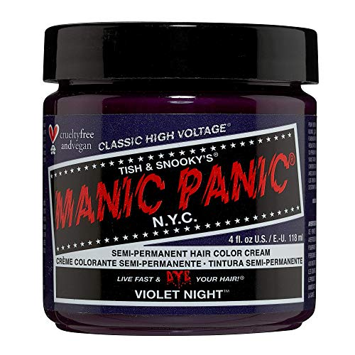 Manic Panic Cream Formula Semi-Permanent Hair Color – Violet Night