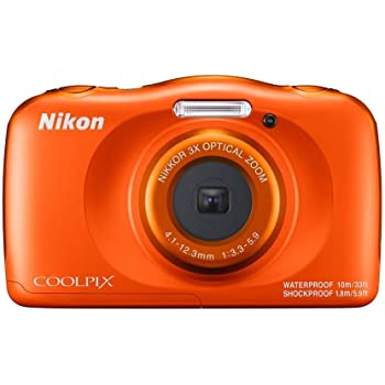 Nikon Coolpix W150 13.2 MP Waterproof Camera with Full HD Recording with 16GB Card and Camera Case (Orange)