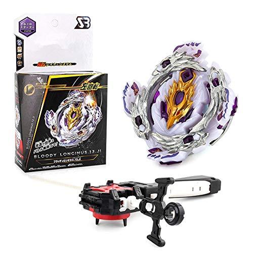 Lavendei 4D Fusion Modell Metall Masters Speed Kreisel | Kampfkreisel mit Launcher Kinder, Jugendliche und Erwachsene (B-110)