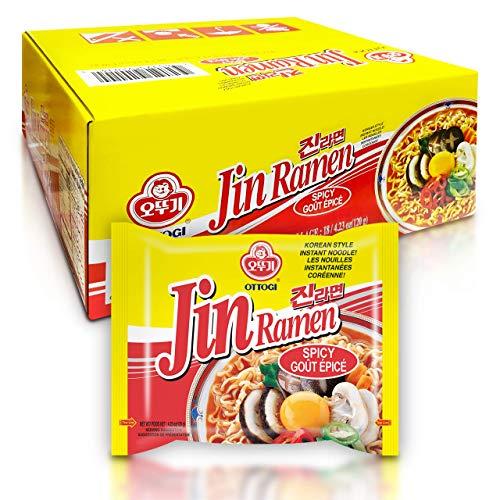 [OTTOGI] Jin Ramen, Spicy Flavor - Korean Instant...