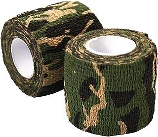 NIDONE Camouflage Patroon Tapes 2 STKS Zelfklevende niet Geweven Outdoor Camo Patroon Tapes