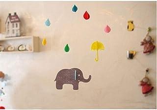 YY-Time ベビー ガーランド 出産祝い 入園祝い 誕生日プレゼント (象さんと過ごす雨滴)