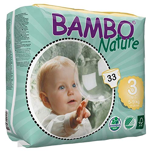 BAMBONature(バンボネイチャー)『テープタイプミディ33枚入』