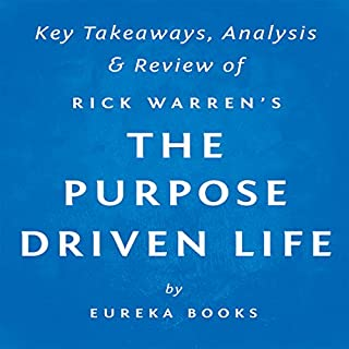 The Purpose Driven Life: What on Earth Am I Here For?, by Rick Warren | Key Takeaways, Analysis & Review audiobook cover art