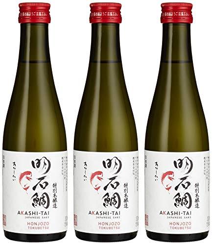Akashi Sake Brewery Honjozo Tokubetsu 15%vol (3 x 300 l)