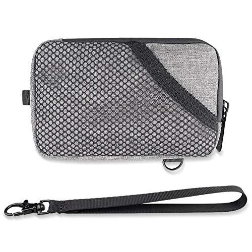 Bolsa de olor neutral, bolsa resistente a los olores con forro de carbón activo, bolsa de almacenamiento impermeable para artículos de fumar, accesorios para ahumar, accesorios de viaje