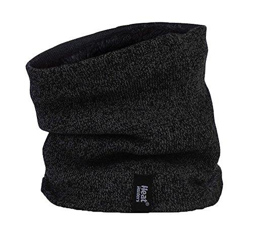 HEAT HOLDERS - Cache-cou pour des hommes hiver chaud en 4 couleurs (Noir) Neckwarmer