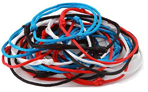 150Mix Hand Made Lucky String Kabbala Armreif Armbänder Erfolg Glück Armband
