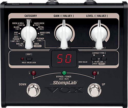 Vox STOMPLAB1G - Pedal multiefecto para guitarra...