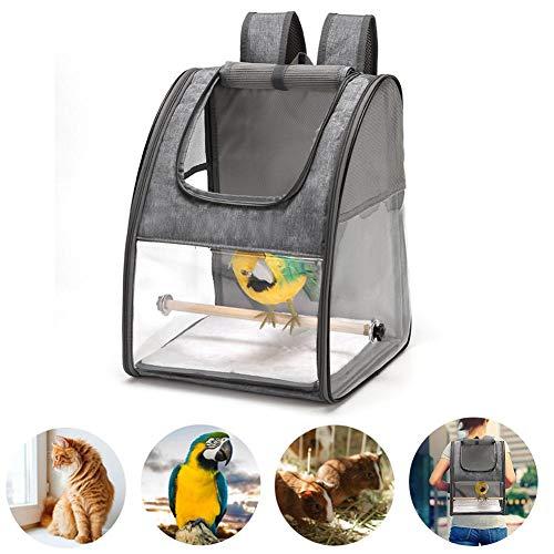Yoouo Papagei Rucksack Atmungsaktiv Vogel Transportkäfig Transport Rucksack Travel Cage Carrier
