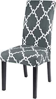 1//2//4//6Pcs Blumenmuster Stuhlhussen Stretch Stuhlüberzug für Stuhl Esszimmer