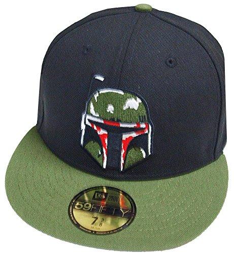 New Era Boba Fett Black Olive 59fifty 5950 Fitted Cap Basecap Kappe Mens Star Wars