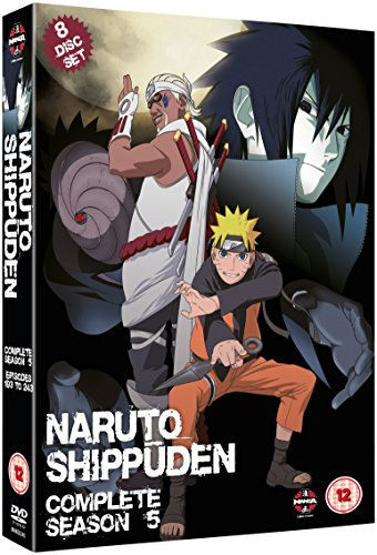 Naruto-Shippuden: Complete Series 5 [Edizione: Regno Unito] [Import]
