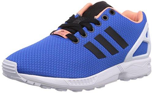 adidas ZX Flux, Unisex-Erwachsene Sneakers, Blau (Blau Bird/Ftwr Weiß/Off Weiß), 45 1/3 EU