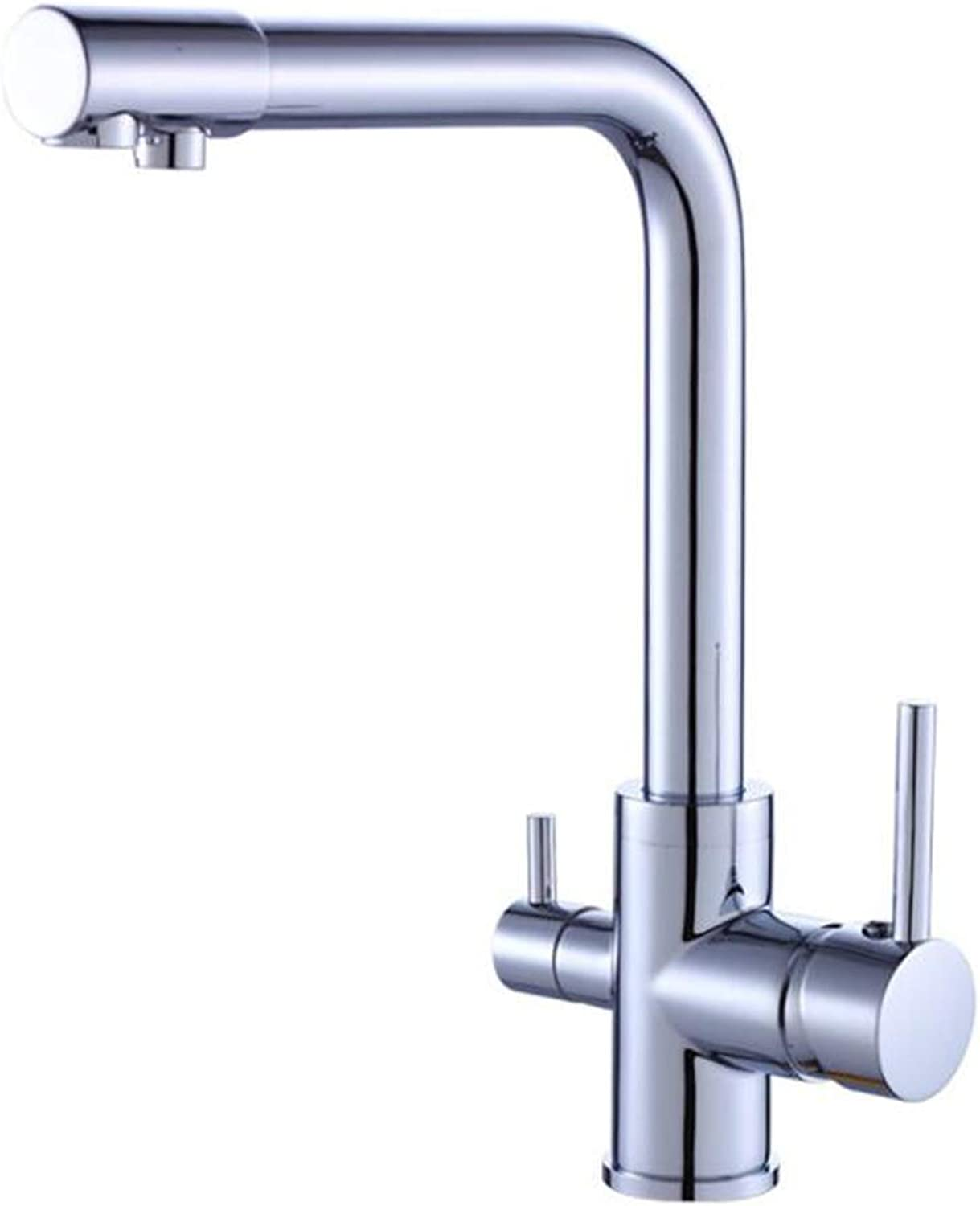 LCM Kitchen Faucet, Copper Water Purification Kitchen Faucet, Hot And Cold Water Single Kitchen Faucet Bathroom