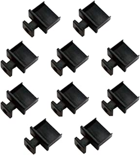 monofive USBポートコネクタ防塵保護カバー・キャップ(10個入り) つまみ付ハードタイプ MF-USB-TAB10B