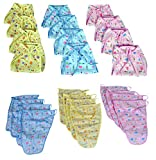 PEUBUD ® Printed Cotton Cloth U Shape Washable and Reusable Nappies/Diapers/Langots/Nappy for New