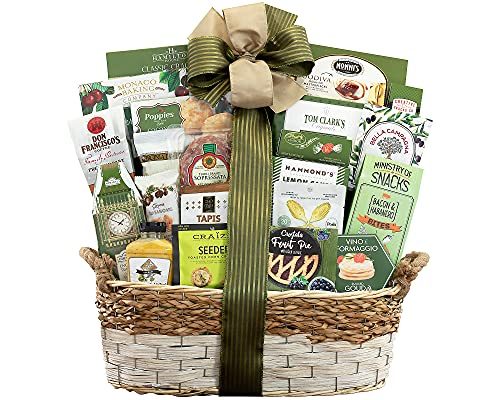 Sympathy Gift Basket- With Our Sincere Condolences Gift Basket by Wine...
