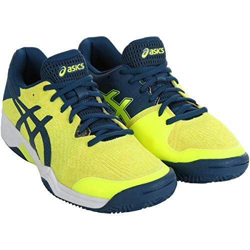 ASICS Gel-Bela 7 GS, Zapatillas Deportivas Unisex Adulto, Safety Yellow/MAKO Blue, 40 EU