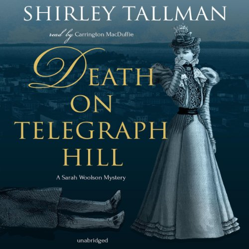 Death on Telegraph Hill audiobook cover art