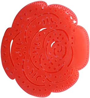 YWAWJ Men's Urinal Scented Filter Pad scent toilet toilet deodorant scented splash urinary filter Bathroom Urinal Deodorant Rose Scent(20 Pieces)