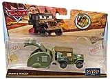 Mattel Disney Pixar Cars - Road Trip Series - Sarge and Trailer