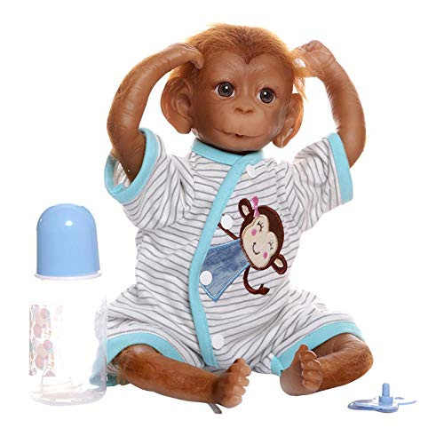 Keyeep Monkey Doll, 2020 New Popular with Children, Handmade Simulation Fashion and Innovative Toy Decoration