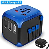 SZROBOY International Universal Travel Adapter with Self-Reset Fuse
