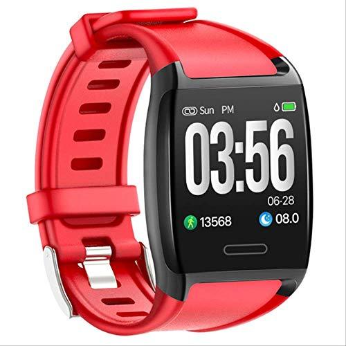 V2 Smart Watch 5atm wasserdichte Aktivität Fitness Laufen Schrittzähler Herzfrequenz Schlaf Tracker Männer Sport Smartwatch Für Ios/Android rot