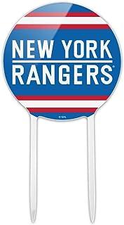GRAPHICS & MORE Acrylic NHL New York Rangers Logo Cake Topper Party Decoration for Wedding Anniversary Birthday Graduation