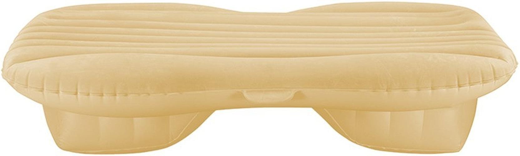 Giow Lit Gonflable pour Voiture SUV Universal Air Bed Lit de Voyage extérieur Adulte échappement arrière Portable Coussin d'échappement Lit de Voyage Gonflable air de Voiture lit Gonflable (Coule