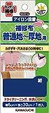 KAWAGUCHI 補修布 普通地~厚地用 アイロン接着 幅6×長さ30cm 紺 93-010